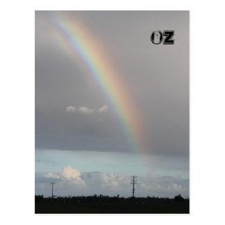 Australia Rainbow Postcard