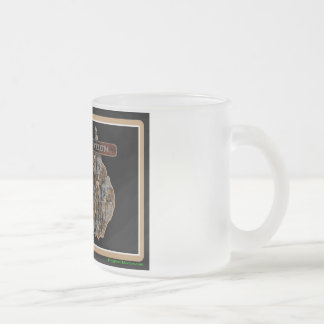 Australia Rig Up Camo Frosted Glass Coffee Mug