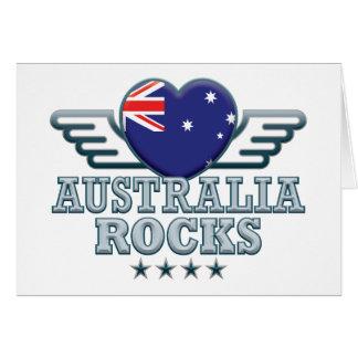 Australia Rocks v2 Card