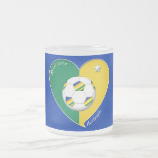 AUSTRALIA SOCCER national team Green Gold 2014 Coffee Mugs