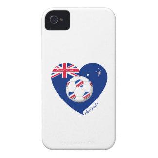 """""""AUSTRALIA"""" Soccer Team. Soccer of Australia iPhone 4 Case"""