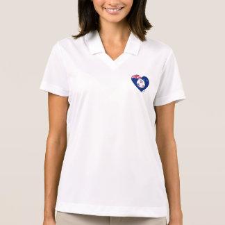 """""""AUSTRALIA"""" Soccer Team. Soccer of Australia Polo T-shirt"""