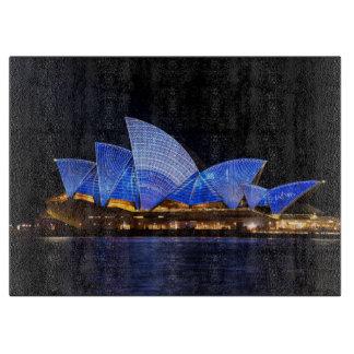 Australia Sydney Opera House At Night Boards