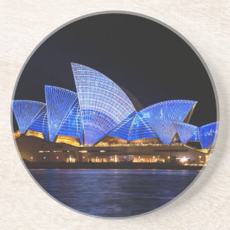 Australia Sydney Opera House At Night Coaster