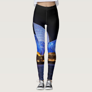 Australia Sydney Opera House At Night Leggings