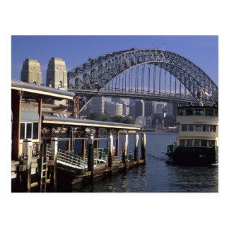 Australia, Sydney, Passenger ferry, one from Postcard