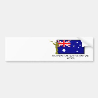 AUSTRALIA SYDNEY SOUTH/ SYDNEY EAST MISSION LDS BUMPER STICKER