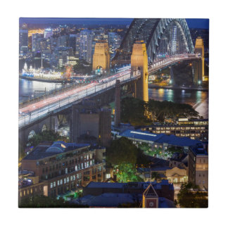 Australia, Sydney, The Rocks area, Sydney Harbor Tile