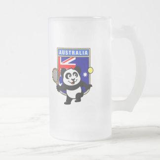 Australia Tennis Panda Mug