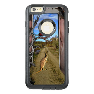 Australia Through A Mobile Phone Popout Art, OtterBox iPhone 6/6s Plus Case