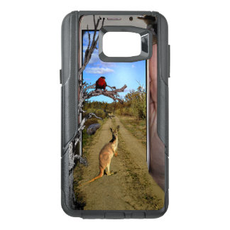 Australia Through A Mobile Phone Popout Art, OtterBox Samsung Note 5 Case