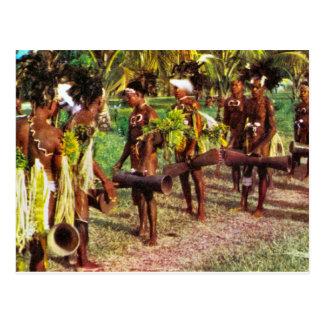 Australia, Tribal festival, New Guinea Postcard