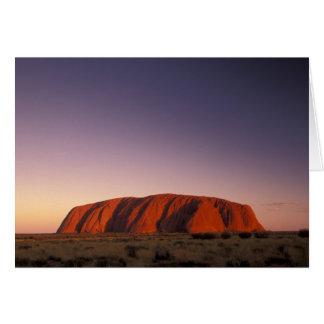 Australia, Uluru Kata Tjuta National Park, Uluru 2 Card