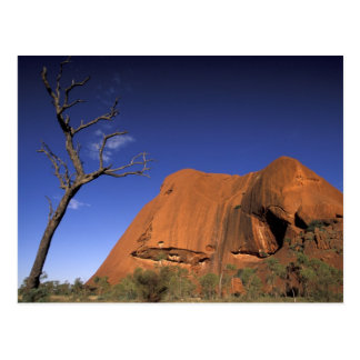 Australia, Uluru Kata Tjuta National Park, Uluru Postcard