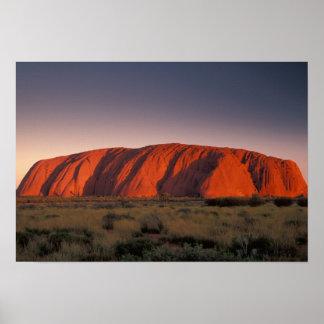 Australia, Uluru National Park. Uluru or Poster