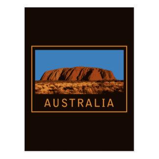 Australia Uluru Postcard