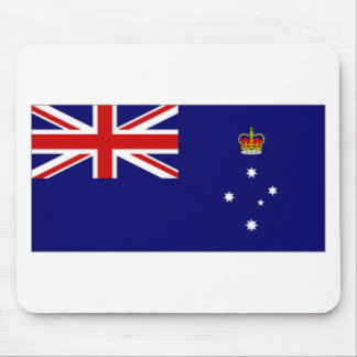 Australia Victoria Flag Mousepads