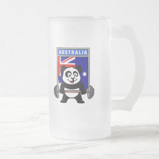 Australia Weightlifting Panda Mugs