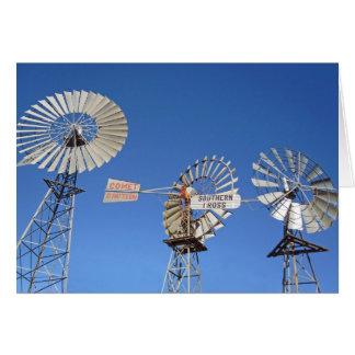 australia windmills card