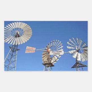 australia windmills stickers