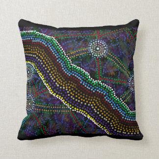 Australian Aboriginal Design Cushion
