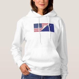 Australian American Flag Hoodie