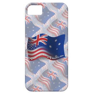 Australian-American Waving Flag iPhone 5 Case