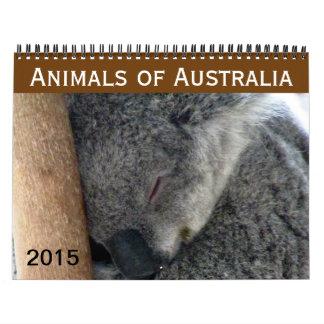 australian animals 2015 wall calendars