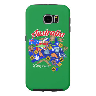 Australian animals and locations samsung galaxy s6 cases