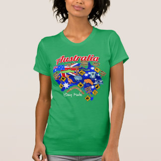 Australian animals and locations T-Shirt