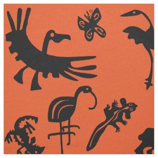 Australian animals fabric