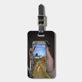 Australian Animals Mobile Phone Coverage Luggage Tag