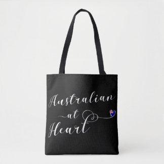 Australian At Heart Grocery Bag, Aus Tote Bag