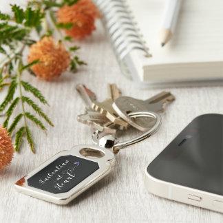 Australian At Heart Keyring, Aus Keychain