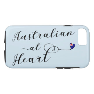 Australian At Heart Mobile Phone Case