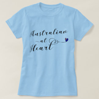 Australian At Heart Tee Shirt, Aus