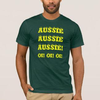 Australian Aussie Sports Fan T Shirt