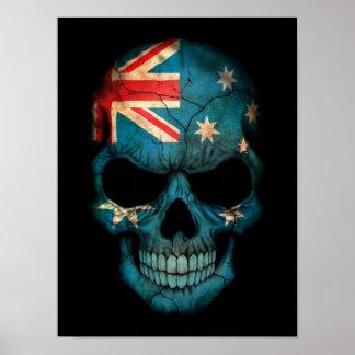 """Australian Australia """"Australian flag"""" """"flag of Au Poster"""