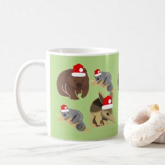 Australian Baby Animals Christmas Coffee Mug