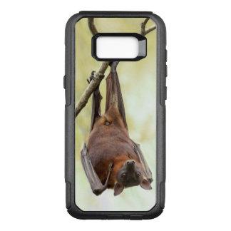 Australian bat up-side-down OtterBox commuter samsung galaxy s8+ case