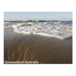 Australian Beach Postcard