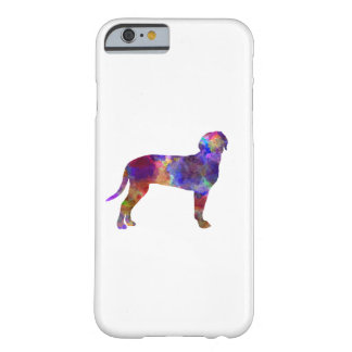 Australian Black and So Hound in watercolor Barely There iPhone 6 Case