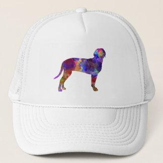 Australian Black and So Hound in watercolor Trucker Hat