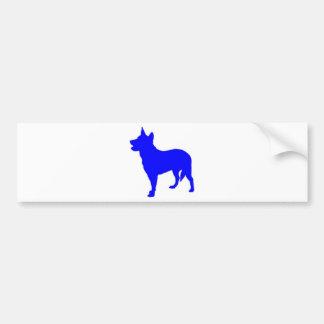 Australian Blue Heeler Bumper Sticker