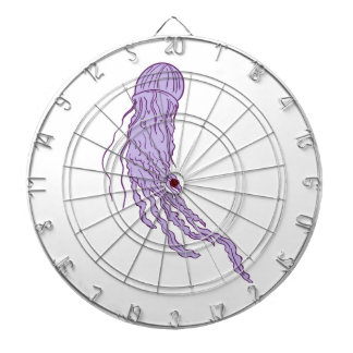 Australian Box Jellyfish Drawing Dartboard
