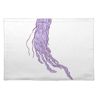 Australian Box Jellyfish Drawing Placemat