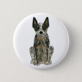 Australian Cattle Dog 2 Inch Round Button