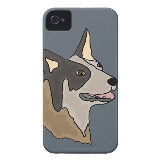 Australian Cattle Dog Art iPhone 4 Cases