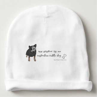 australian cattle dog baby beanie
