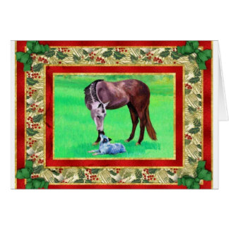 Australian Cattle Dog Blank Christmas Card